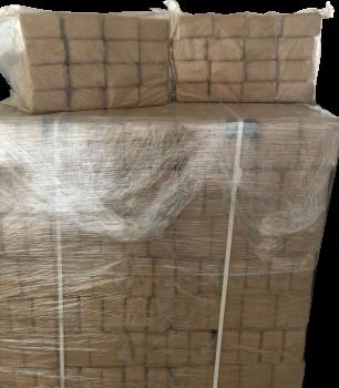 Mini wood briquettes hardwood - 1000kg
