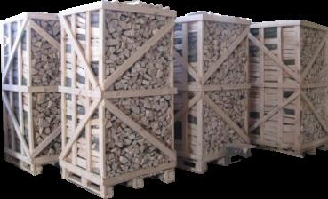 Birch wood 1.8 cubic meter pallet
