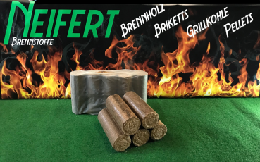 Nestro beech briquettes without draw hole - 960kg